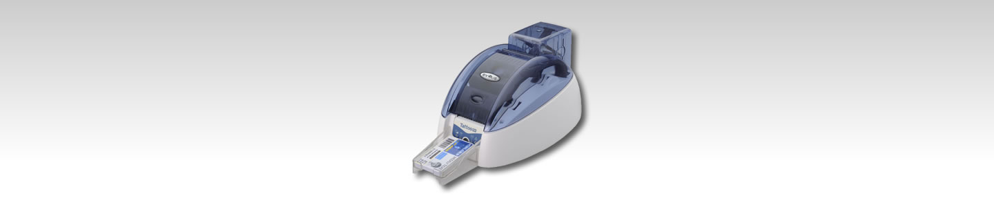 Evolis Tattoo Re-Write ID card printer.