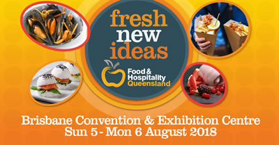 Food Service Exhibition Queensland 2018 food safe cards and Country Of Origin Labels
