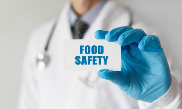 Food safe card compliant cards for allergen and content.