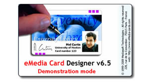 eMedia card design software.