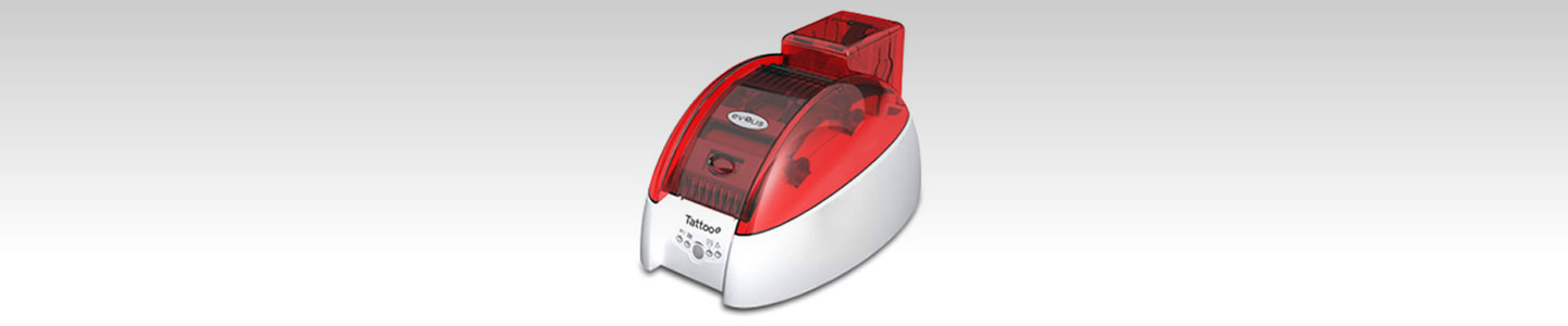 Evolis Tattoo2 ID Card Printer.