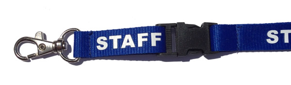 Staff Lanyard Detachable Buckle, Safety Breakaway buy on line
