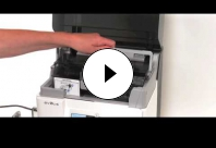 Adjust the card thickness on Avansia Card Printer.