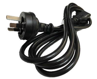 Buy Australian power plug, standard 3 pin mains AC power plug AS/NZS 3112:2000
