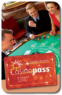 Casino membership card