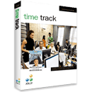 Time Track time and attendance software.